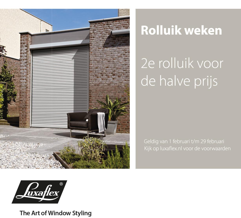 2e Luxaflex® Rolluik voor 50%